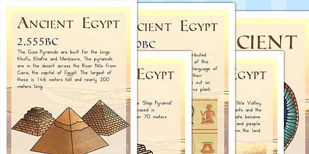 Ancient Egypt Timeline Posters - australia, ancient egypt, poster