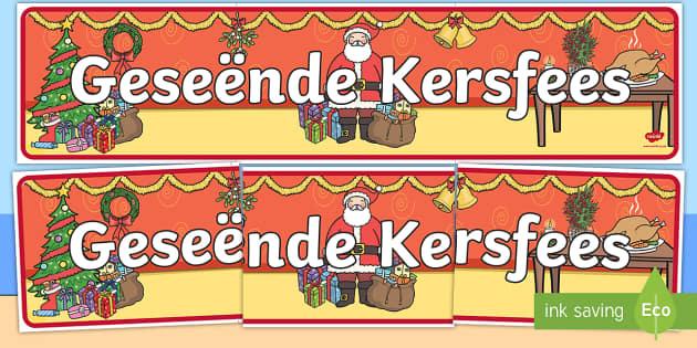 Geseende Kersfees vertooning baniere - Geseende Kersfees vertooning baniere, baniere, kersfees, geseende kersfees, klaskamer, onderwerp