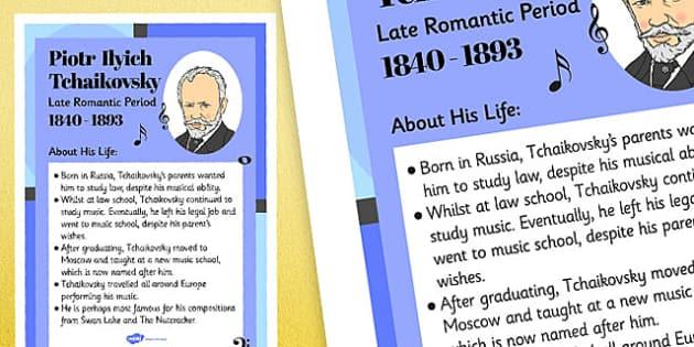Piotr Ilyich Tchaikovsky Display Poster - piotr ilyich thaikovsky