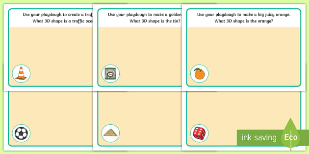 3D Shapes Playdough Mats - playdough mat, 3D shapes, mat, activity, playdough, 3D Shape names, learning shapes