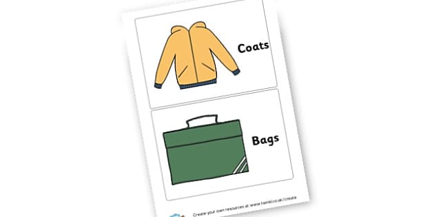 Coat Corner Labels - Cloakroom & Toilet Area Primary Resources, toilets, signs, rules