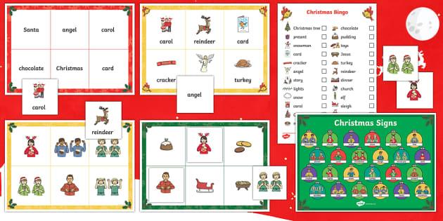 BSL Christmas Bingo