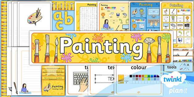 PlanIt - Computing Year 1 - Painting Unit Additional Resources
