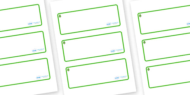 Lime Tree Themed Editable Drawer-Peg-Name Labels (Blank) - Themed Classroom Label Templates, Resource Labels, Name Labels, Editable Labels, Drawer Labels, Coat Peg Labels, Peg Label, KS1 Labels, Foundation Labels, Foundation Stage Labels, Teaching La