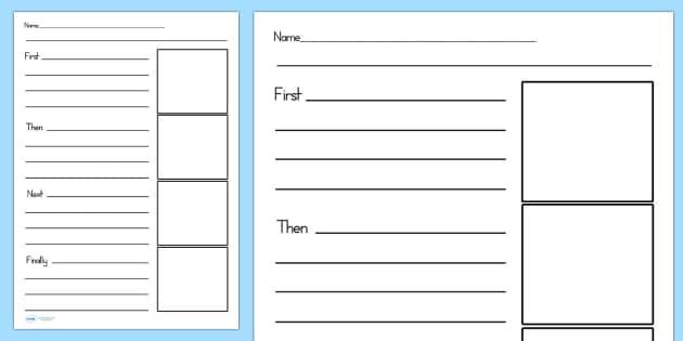 Recount Writing Frames - recount, writing, write, literacy, read
