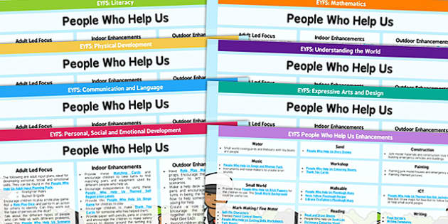 EYFS People Who Help Us Lesson Plan and Enhancement Ideas - people who help us, lesson plan, lesson plan ideas, lesson ideas, lesson planning, teaching plan, EYFS, ideas
