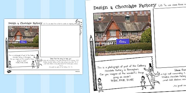 Design Your Own Factory to Support Teaching on Charlie and the Chocolate Factory - australia