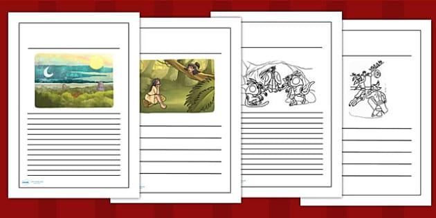 The Hero Twins Mayan Civilization Story Writing Frames - mayans
