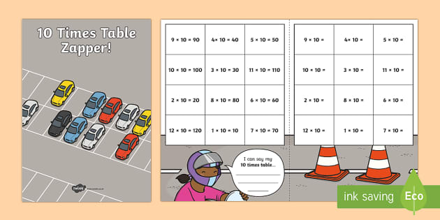 10 Times Table Zapper