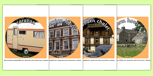 Houses and Homes Display Photo Cut Outs - house, home, cut out
