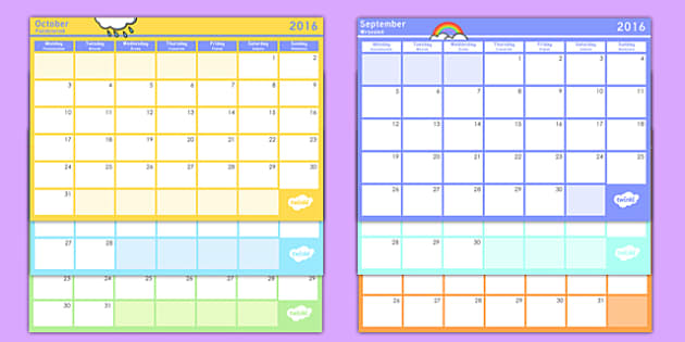 Academic Year Monthly Calendar Planning Template 2016-2017 Polish Translation - polish, Academic Year Calendar September 2015 to August 2016, calander, calander, calandar, calender2016, claendars, calemdar, calander, school, holidays, term, half-term