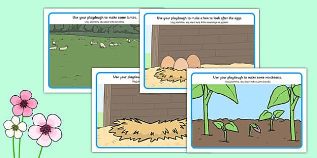 Spring Playdough Mats Polish Translation - polish, spring, playdough mat, spring playdough mat, spring playdough, weather and seasons, seasons, playdough, play dough, play doh