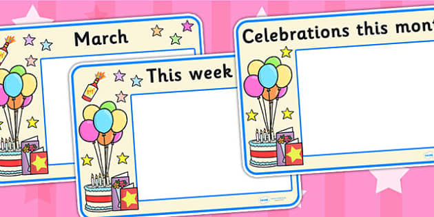 Celebrations and Festivals Calendar Posters - calendar, posters