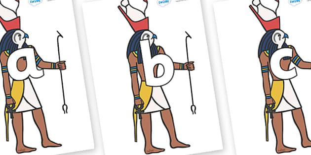 Phoneme Set on Egyptian Gods - Phoneme set, phonemes, phoneme, Letters and Sounds, DfES, display, Phase 1, Phase 2, Phase 3, Phase 5, Foundation, Literacy