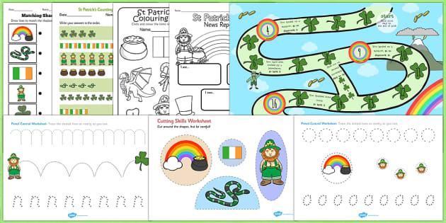 St Patricks Day Activity Pack - activities, celebrate, celebrating