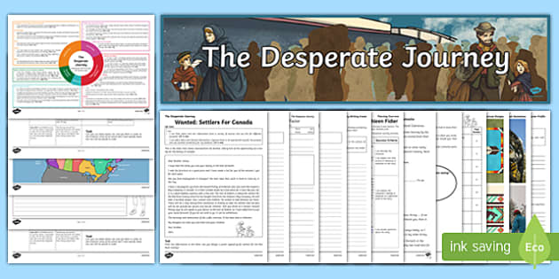 The Desperate Journey Resource Pack to Support Teaching on The Desperate Journey