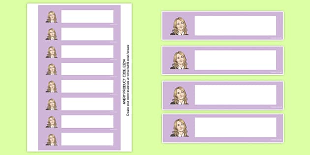 J K Rowling Themed Resource Labels - j k rowling, harry potter, magic, wizards, hogwarts, hermione granger, ron weasley, book, novel, story, resource labels