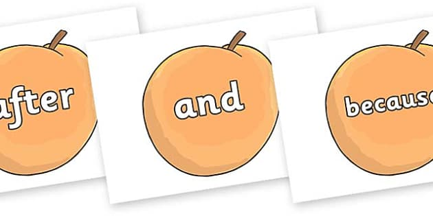 Connectives on Giant Peach to Support Teaching on James and the Giant Peach - Connectives, VCOP, connective resources, connectives display words, connective displays