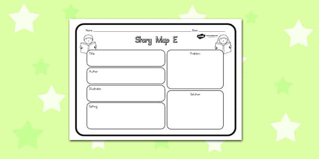 Story Map E Worksheet - australia, story, map, worksheet, e