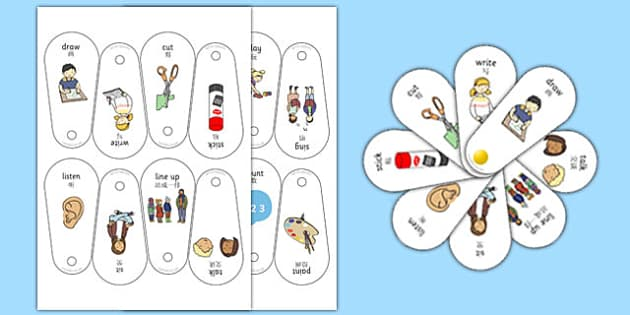 New EAL Starter Instruction Fans Chinese Mandarin Translation - chinese mandarin, EAL, Fans, Instruction