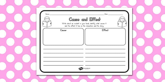 Cause and Effect Worksheets - australia, cause, effect, worksheet