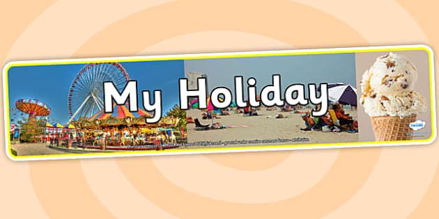 My Holiday Photo Display Banner - my holiday, photo display banner, photo banner, display banner, banner,  banner for display, display photo, display, photo