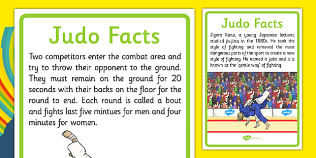 Rio 2016 Olympics Judo Display Facts - rio 2016, 2016 olympics, rio olympics, judo, display facts