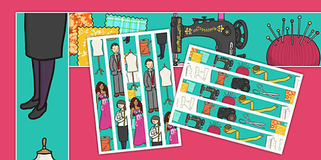Tailors and Dressmakers Display Borders - tailors, dressmakers, shop, display borders