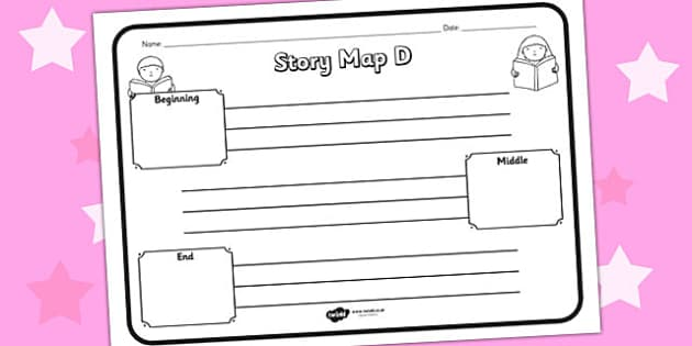 Story Map D Worksheet story map D story stories story map – Story Map Worksheet