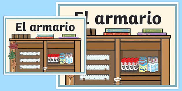 Cartel El armario
