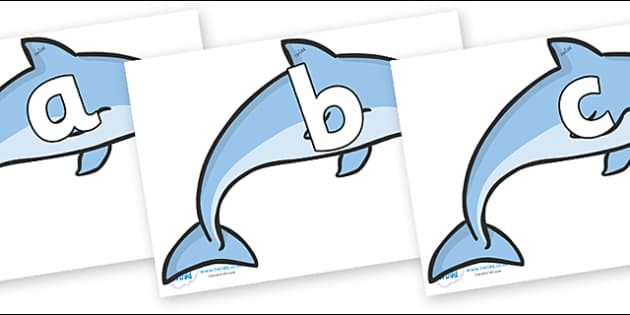 Phoneme Set on Dolphins - Phoneme set, phonemes, phoneme, Letters and Sounds, DfES, display, Phase 1, Phase 2, Phase 3, Phase 5, Foundation, Literacy