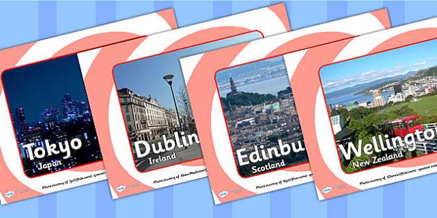Capital Cities Display Photos - capital cities, display photos