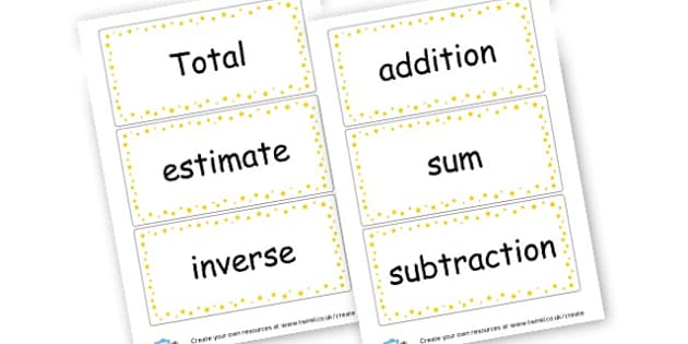 working wall maths vocab - Maths Area Primary Resources, maths is fun, signs, labels, areas