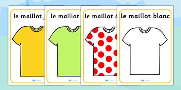 Tour de France Jersey Posters French - le tour, display, sports