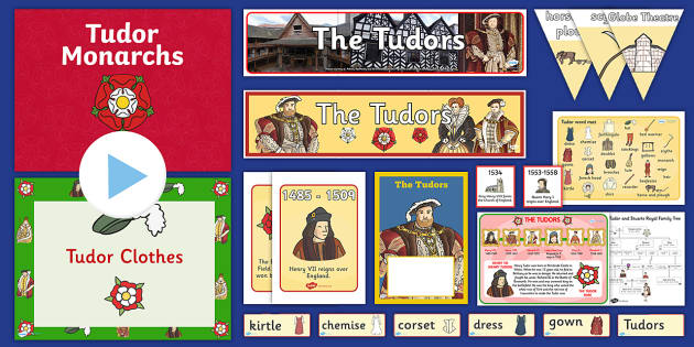 The Tudors Resource Pack - History Club, The Tudors, support, ideas, elderly care, care homes, activity coordinators, life long