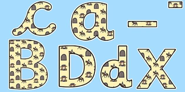 Emily Davison Themed Display Lettering - emily davidson, display lettering, themed lettering, classroom lettering, lettering,, lettering display, display