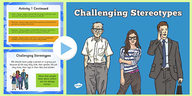 KS2 Challenging Stereotypes Activity PowerPoint