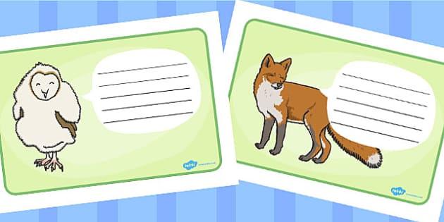 Owl Editable Worksheets - owl, worksheets, story, owls, editable