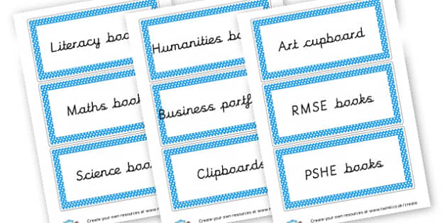 Books Labels - Reading Area Primary Resources, signs, area, zones, banner, poster