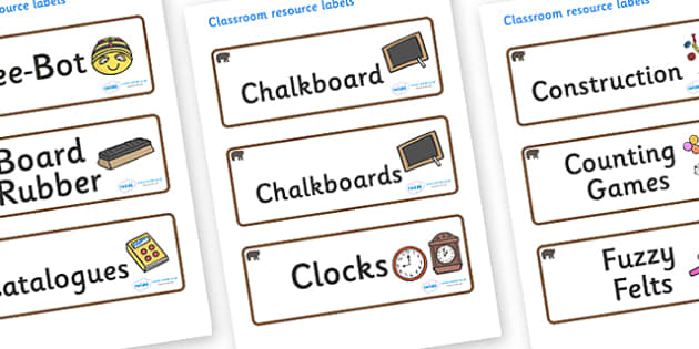 Bear Themed Editable Additional Classroom Resource Labels - Themed Label template, Resource Label, Name Labels, Editable Labels, Drawer Labels, KS1 Labels, Foundation Labels, Foundation Stage Labels, Teaching Labels, Resource Labels, Tray Labels, Pri