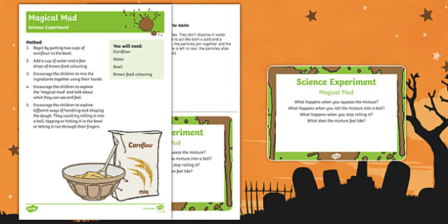 EYFS Magical Mud Science Experiment and Prompt Card Pack