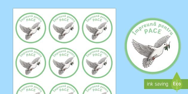 Împreună pentru PACE - Insigne Badges