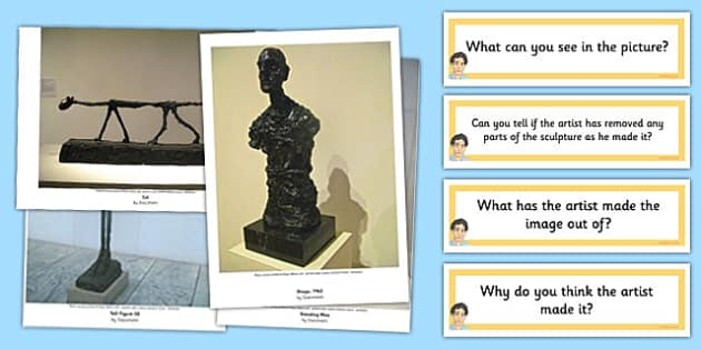 Looking at Sculpture Photopack and Prompt Questions - photo pack