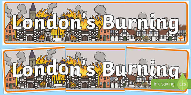 London's Burning Display Banner