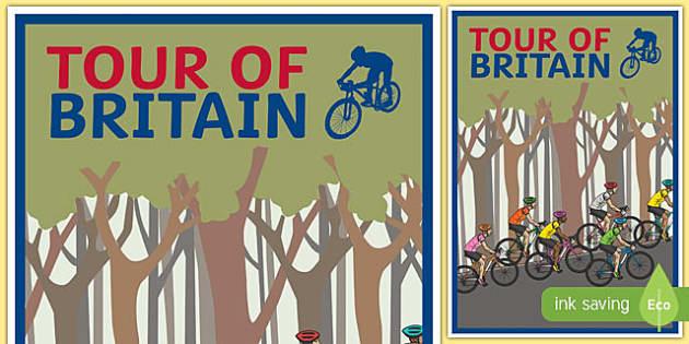Tour of Britain Display Poster