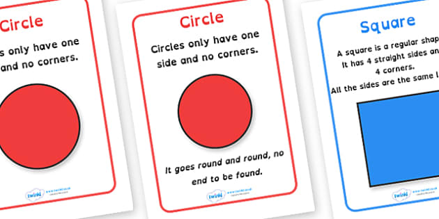 2D Shape Information Posters Dyslexia - 2d shape description posters, shape description posters in dyslexia font, shape dyslexia posters, sen maths, shape