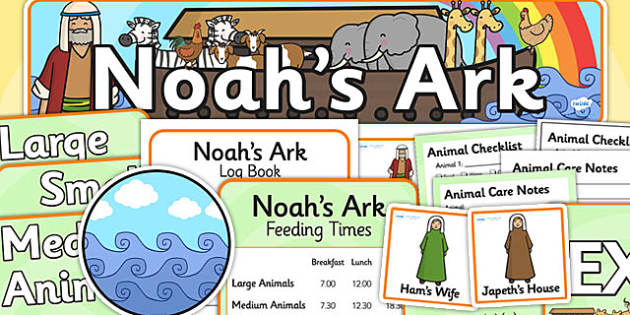 Noah's Ark Role Play Pack - Noah's ark, role play, religion, RE