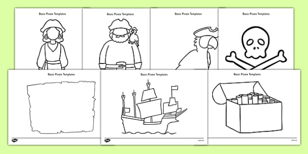 Basic Pirates Template Resource Pack - basic, template, resource, pack, pirates