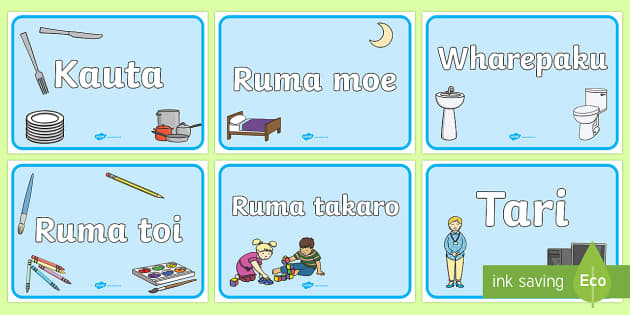 Ngā wāhi akoako Signs and Labels