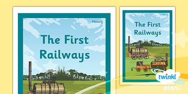 PlanIt - History LKS2 - The Railways Unit Book Cover - planit, history, book cover, the railways